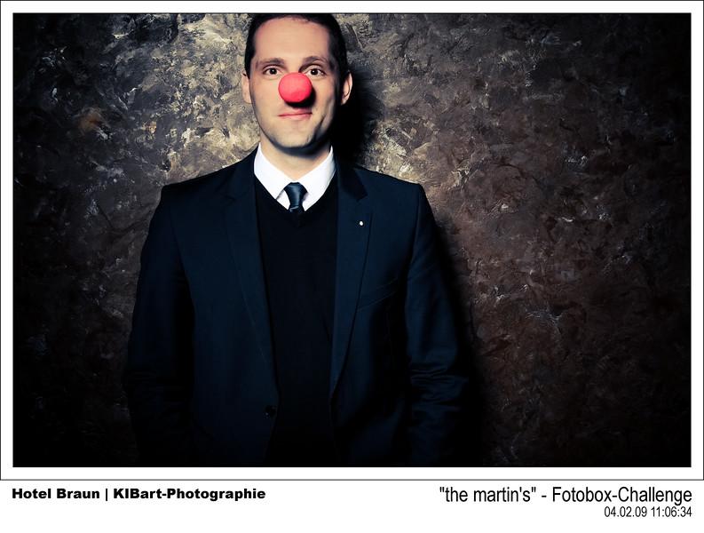 """the martin's"" - Fotobox-Challenge"