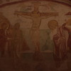 verhaal over de komst christendom in Alquileia Crypte kerk 11e  eeuw
