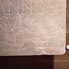 Afbeeldingen en inscripties van christelijke graftombes gevonden in Aquileia (4/5e eeuw)