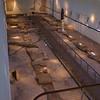 Oud-christelijk museum Aquileia. De mozaïekvloeren zijn daar ontdekt. 4e eeuw
