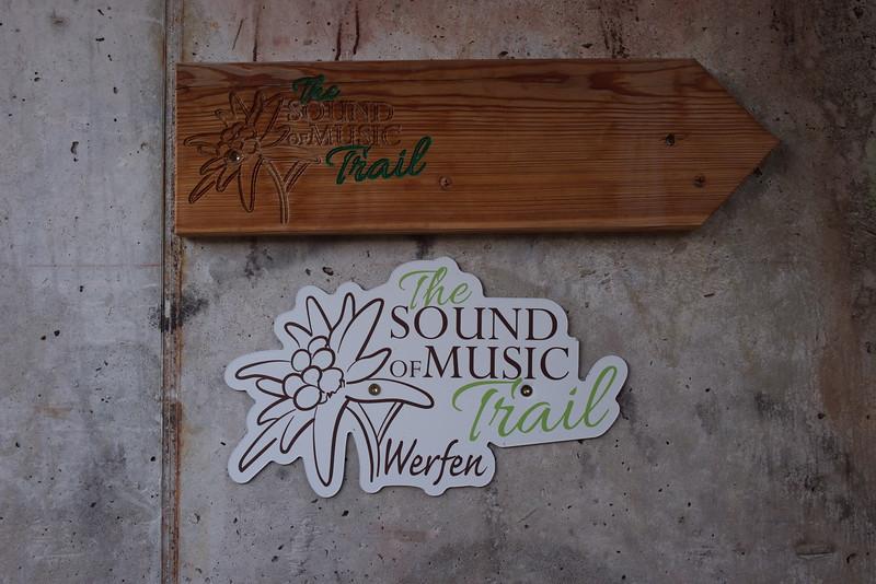 In de omgeving van Werfen werd de film 'Sound of Music' opgenomen