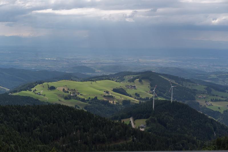 "Op de berg 'Schauinsland"" na bij Freiburg, Schwarzwald"