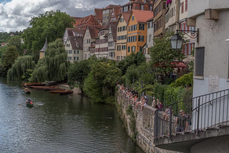 Tübingen met Hölderlinturm