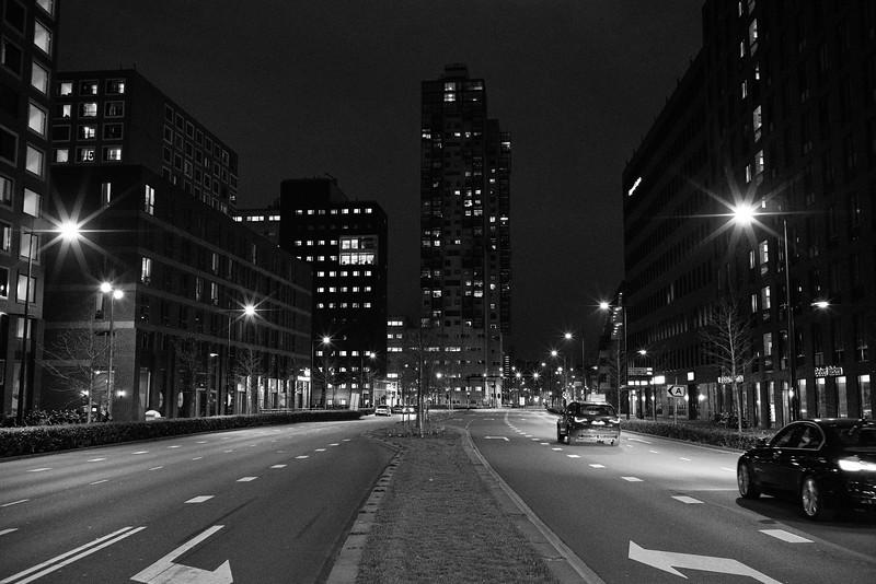 Tilburg in het donker