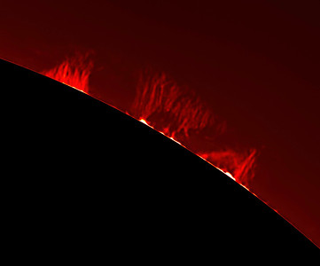 Sun: prominces 2019 April 20