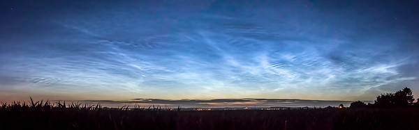 Noctilucent clouds, 2018 June 23