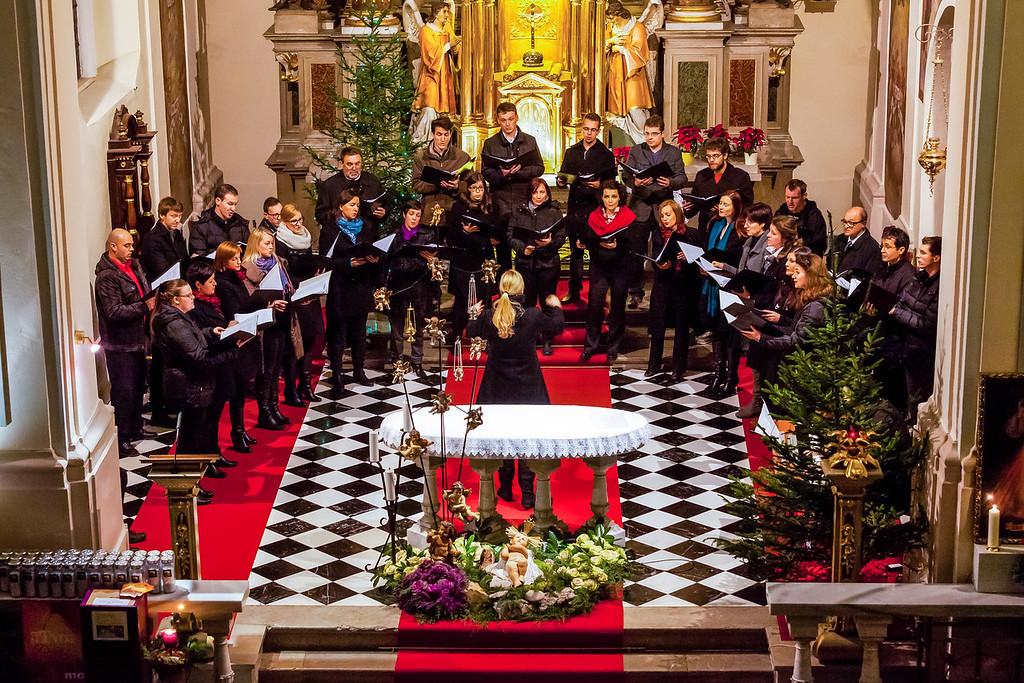 Cantemusov božični koncert v Kamniku (Foto: Katja Jeras)