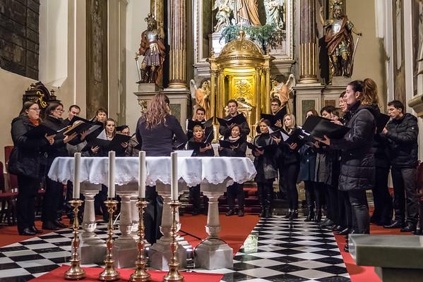 Božični koncert v Kamniku (foto: Ana Pogačar)