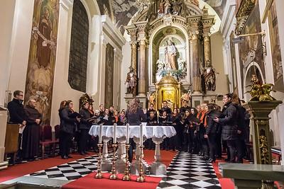 Božični koncert v Kamniku: Cantemus in Vox Annae (foto: Ana Pogačar)