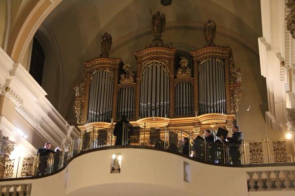 Božični koncert na Brezjah, 28.12.2015 (Foto: Nina Klisarič)