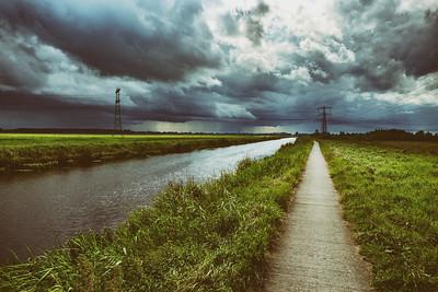 Dramatic sky (classic look)