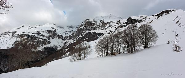 Cascada de nieve
