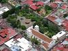 Iglesia, Fortin y Parque Central de Heredia.