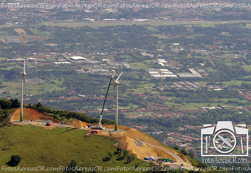 Proyecto Eólico Santa Ana, CNFL. <br /> Agosto 2012