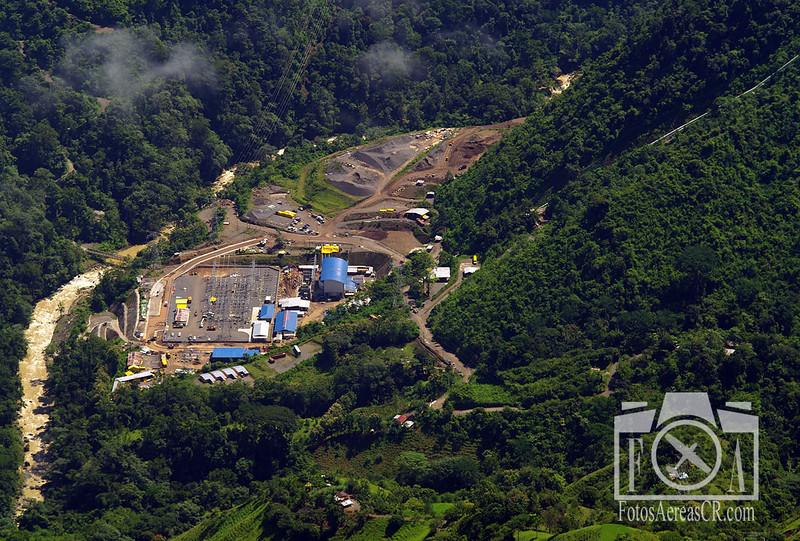 Casa de Máquinas del Proyecto Hidroeléctrico Pirris