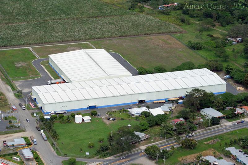 LAICA facility. El Roble, Puntarenas