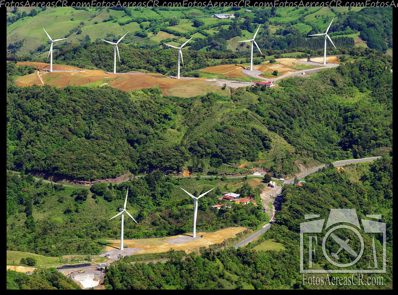 Plantas Eólicas Los Santos