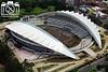 Vista noreste del Estadio Nacional. Agosto 2010