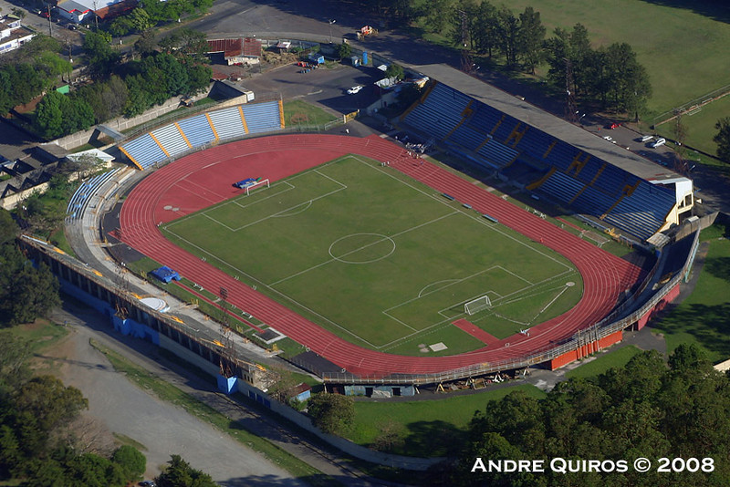 Costa Rican National Stadium. Demolished May 2008.