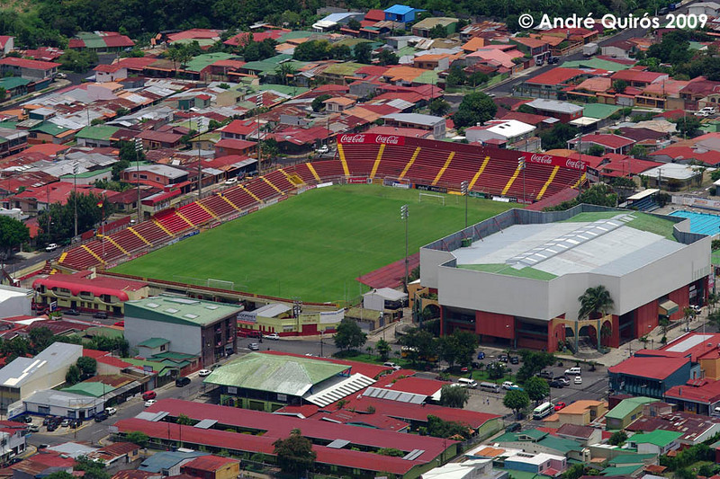 Estadio Eladio Rosabal Cordero, Heredia.