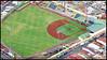 Parque de Beisbol Antonio Escarre, inaugurado en 1955 y recién renovado para los Juegos Centroamericanos San José 2013. <br /> Cámara: Pentax K-5 IIs