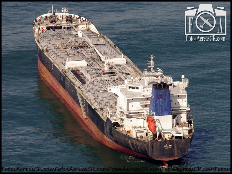 """""""Kara Sea"""" <br /> Tanquero de químicos/petróleo. Construido en 1998. <br /> Puerto Caldera, Puntarenas <br /> 20 Mayo 2013"""