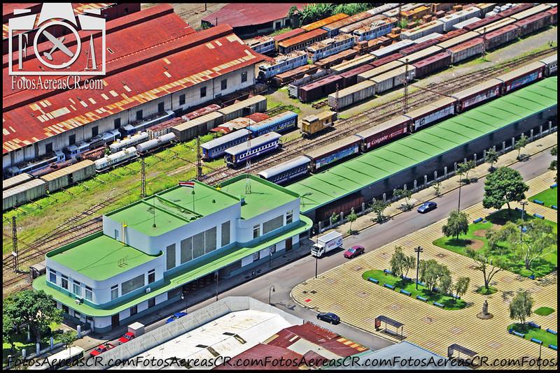 Estación del Ferrocarril al Pacifico.<br /> San José, Costa Rica. <br /> 2008