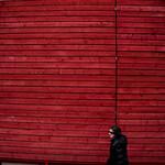 Madera en rojo