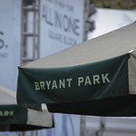 Bryant Park in the winter