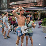 Naked Cowboy... well almost naked