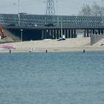 Hetzelfde strandje, nu met 400mm