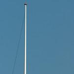Vlaggenmast ook ver weg (400mm)