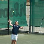 Tennis (400mm); vanaf nu alle foto's met polarisatiefilter