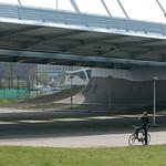 Onder brug naar Papendorp (70mm)