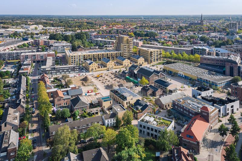 Luchtfoto NRE terrein, Eindhoven