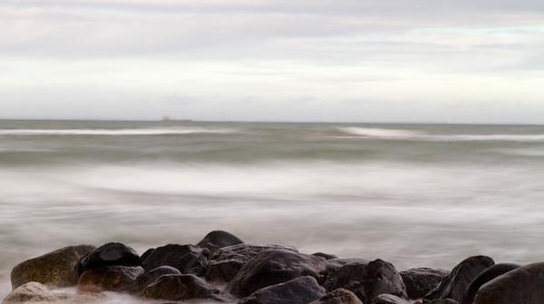 Hornbæk strand feb 2012
