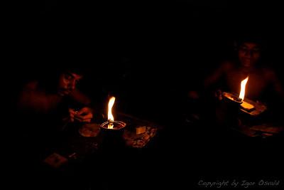 Dhaka, Bangladeš (2008) - Zlatarska industrija.