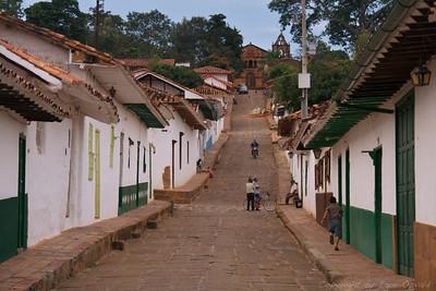 Barrichara, Kolumbija (2009) - Tek po svoji ulici, kjer poznaš vsak kamen.