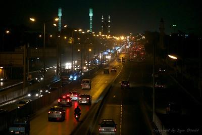 Kairo, Egipt (2011) - Urejeni vstop v megalopolis kaosa.
