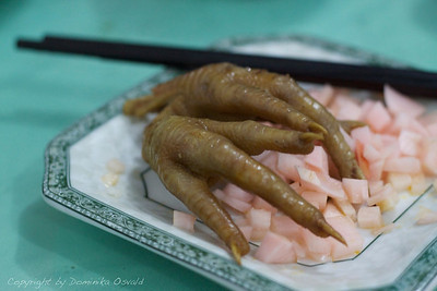 Baiyu, Kham, Tibet/Kitajska (2010) - Kurje tace, z Dominikine strani oboževana kitajska specialiteta.