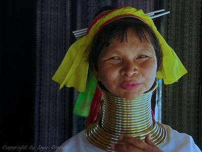Mae Hong Son, Tajska (2006) - Še vedno lepe, čeprav že zdavnaj krepko v sedanjosti.