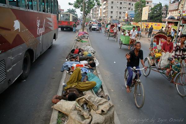 Brez doma - Dhaka, Bangladeš (2008)