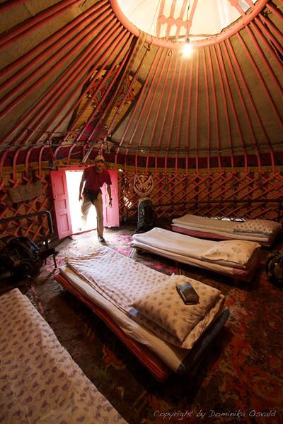 Karakol, Kirgizija (2011) - Cela jurta samo za naju!