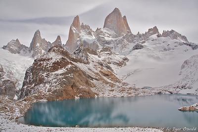 Mt. Fitzroy, Patagonija, Argentina (2010) - Z rokami mojstra vetra izklesan.