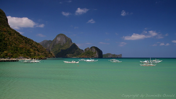 El Nido, Palawan, Filipini (2007) - Najlepše morje Azije.
