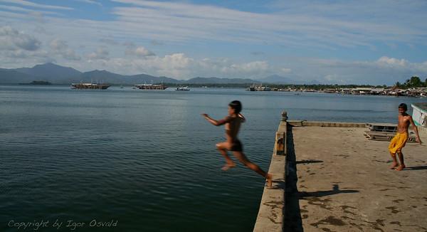 Puerto Princesa, Palawan, Filipini (2007) - Trenutek izstrelitve.