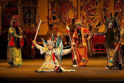 Chengdu, Sečuan, Kitajska (2006) - Kitajska opera, na srečo za vas brez zvoka.