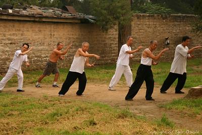 Peking, Kitajska (2006) - Tai-ji-quan (tai-chi-chuan) mojstri.