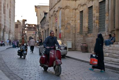 Kairo, Egipt (2011) - Kairska naglica. Daj gas, tu končno ni zastojev.