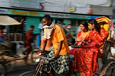 Dhaka, Bangladeš (2008) - Rikšarji. Občudovanja vredni mučenci v vlagi, vročini in gneči Dhake. Delo z velikim D-jem.